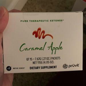 New unopened | Pruvit caramel apple tea.